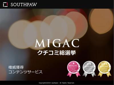 MIGACクチコミ総選挙